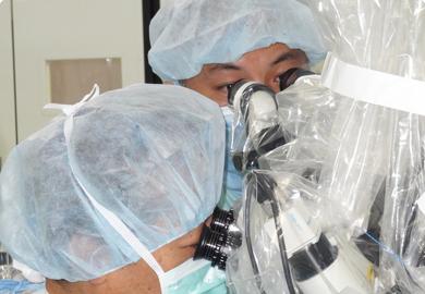 福島式鍵穴手術の写真